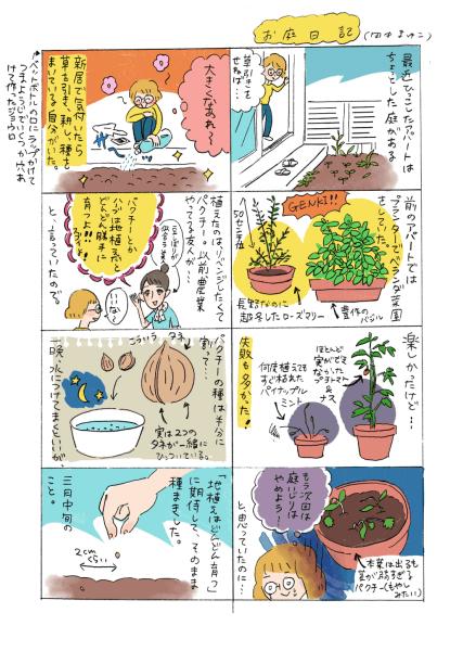 お庭日記 (2017)